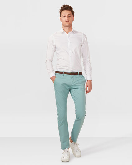 HEREN SLIM FIT CHINO Mintgroen