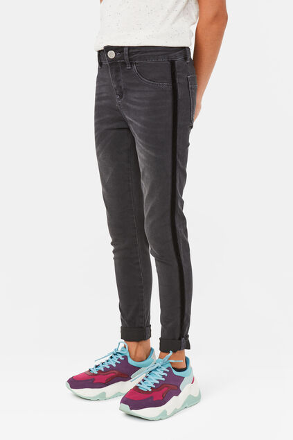 Jeggings super skinny fille Gris