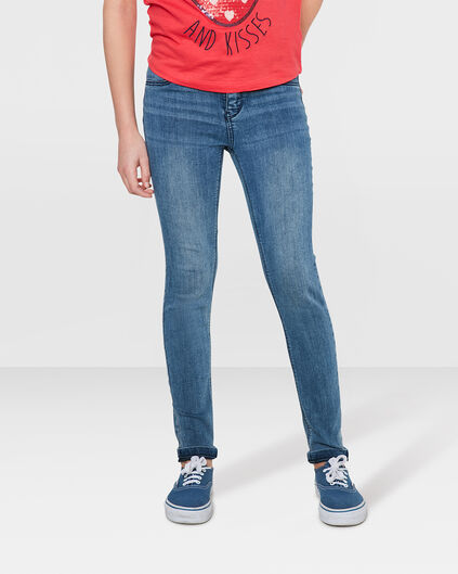 JEGGING SUPER SKINNY POWER STRETCH FILLE Bleu