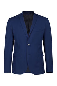 Heren slim fit blazer, Dali_Heren slim fit blazer, Dali, Blauw