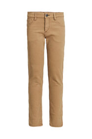 Jongens regular fit broek_Jongens regular fit broek, Caramel