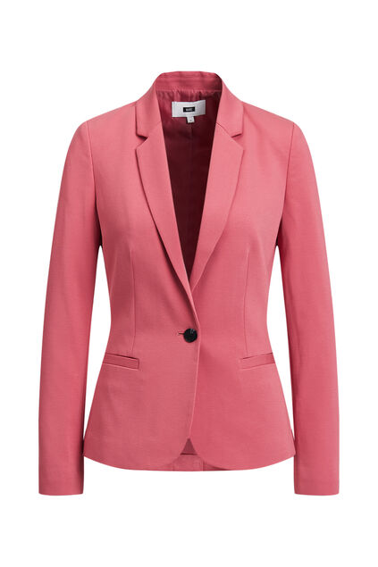 Blazer regular fit femme Rose