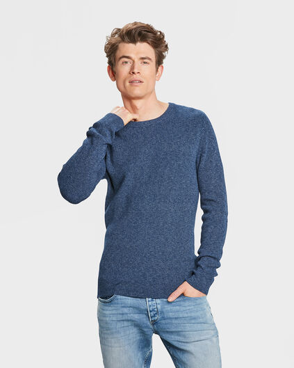 SWEAT-SHIRT DENIM HOMME Bleu marine