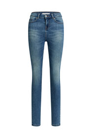 Dames mid rise super skinny jeans met super stretch_Dames mid rise super skinny jeans met super stretch, Blauw