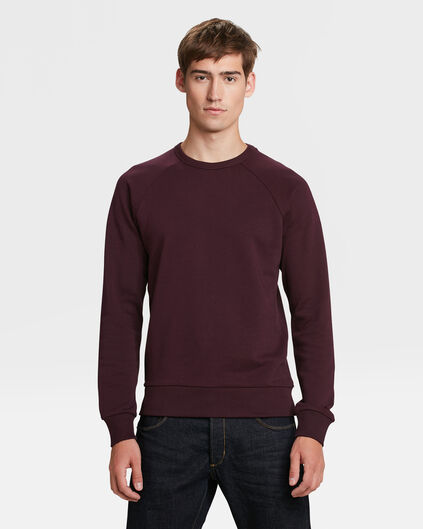 SWEAT-SHIRT HOMME Aubergine