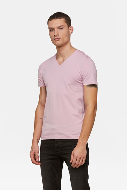 HEREN ORGANIC COTTON T-SHIRT Zalmroze