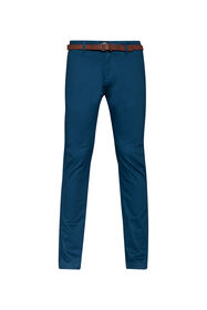 Heren skinny fit chino_Heren skinny fit chino, Blauw