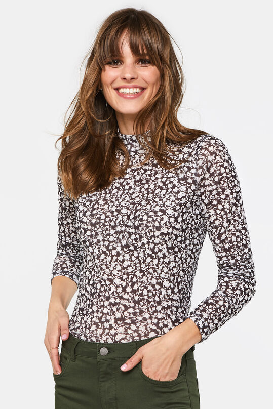 Dames coltrui met dessin All-over print