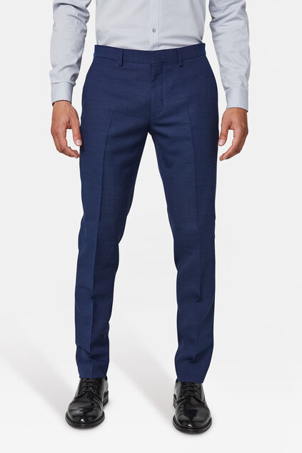 Heren regular fit pantalon sorrento Marineblauw