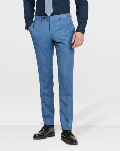 PANTALON SLIM FIT HACKNEY HOMME Bleu eclair