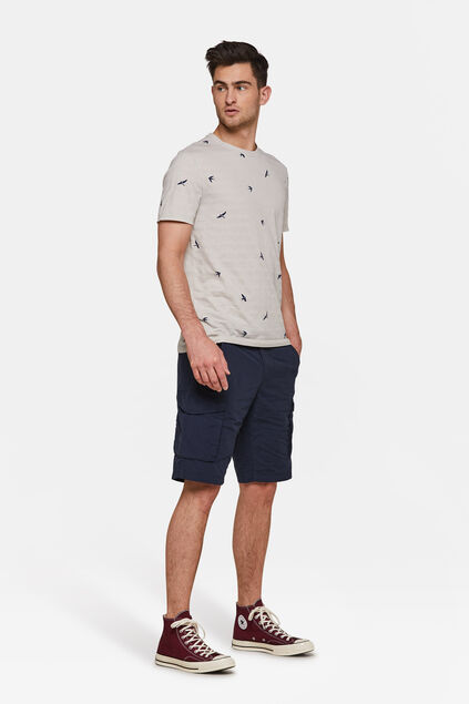 Heren short Donkerblauw