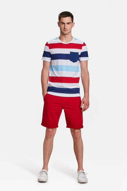 SHORT REGULAR FIT HOMME Rouge