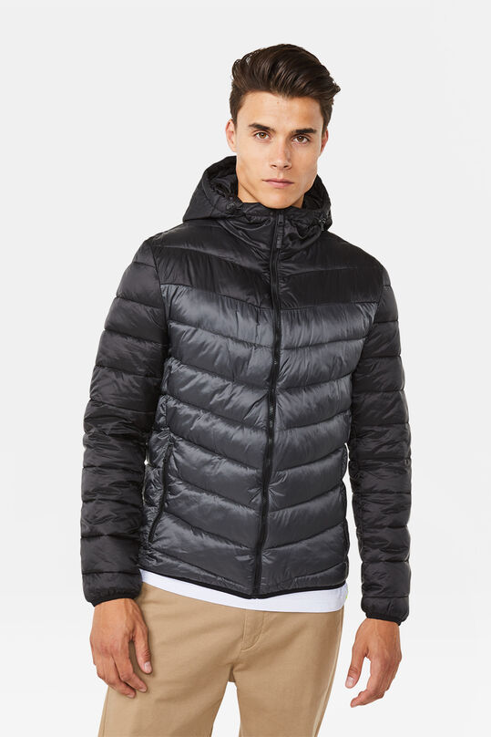 Heren light weight jacket Zwart