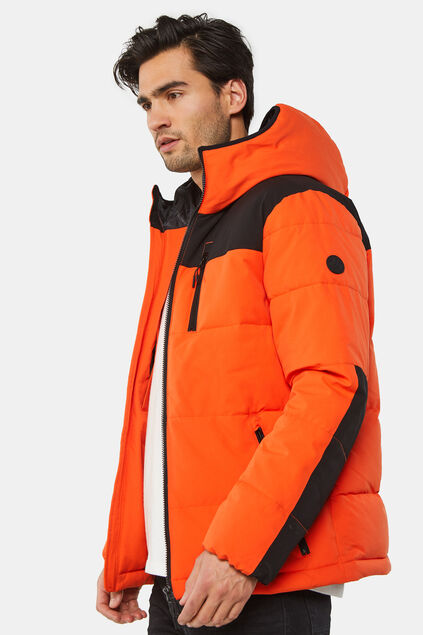 Doudoune homme Orange vif