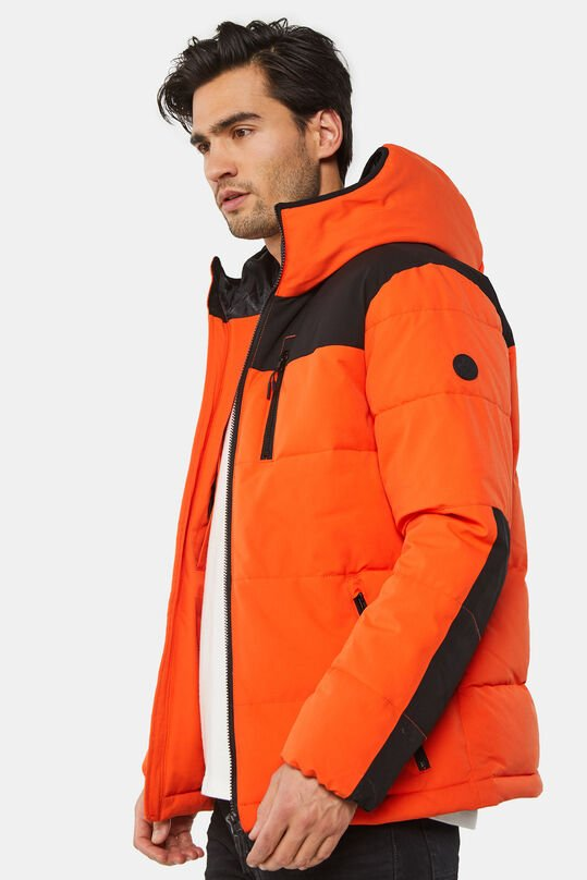 Heren puffer jacket Feloranje