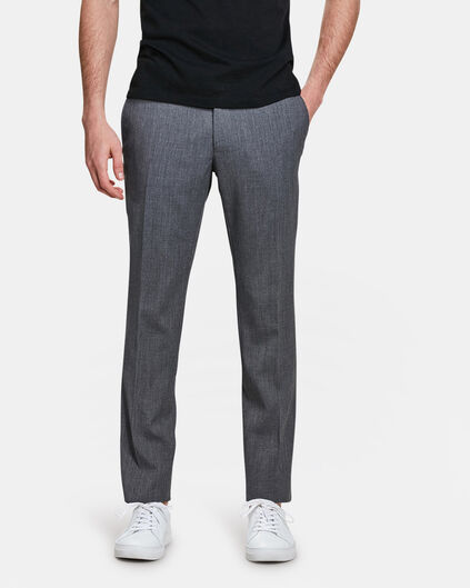 HEREN SLIM FIT PANTALON DALI Grijs