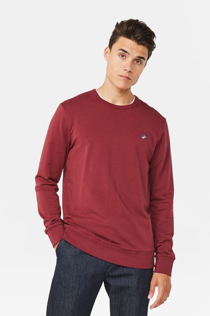 Sweat-shirt homme Bordeaux