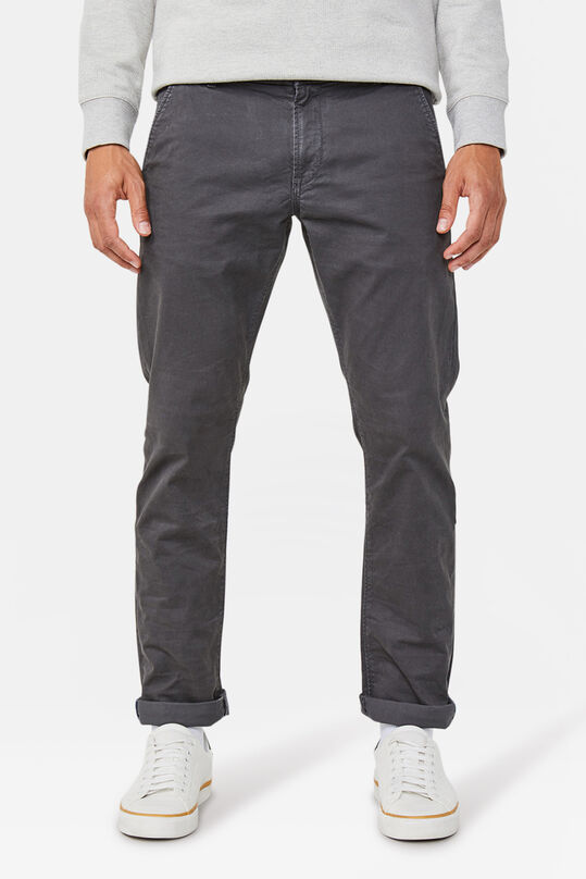 Chino slim tapered homme Gris foncé