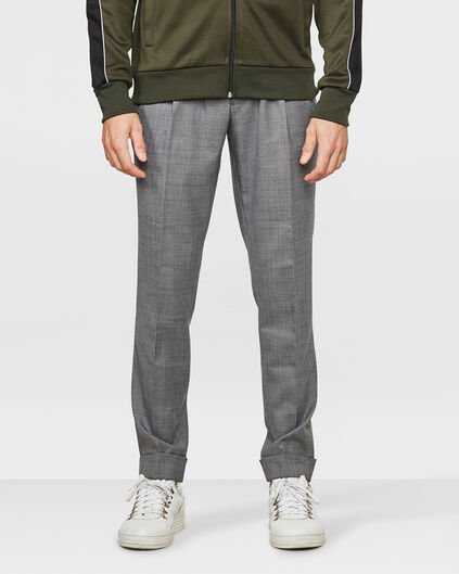 HEREN SKINNY FIT TYPHOON OFF STAGE PANTALON Grijs
