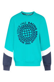 Jongens geprinte sweater_Jongens geprinte sweater, Groen