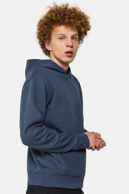 Sweat-shirt à capuchon homme Bleu