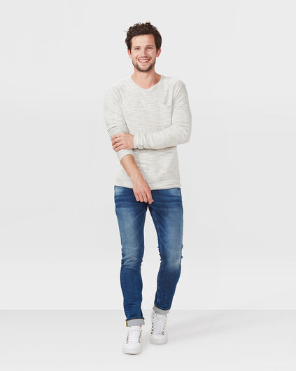 HEREN SLIM TAPERED JOG DENIM Blauw