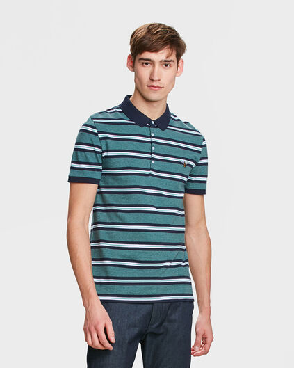 POLO PRINTED HOMME Vert menthe