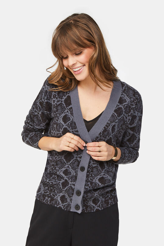 Dames slangendessin vest All-over print
