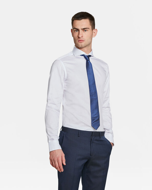 HEREN SLIM FIT OVERHEMD Wit