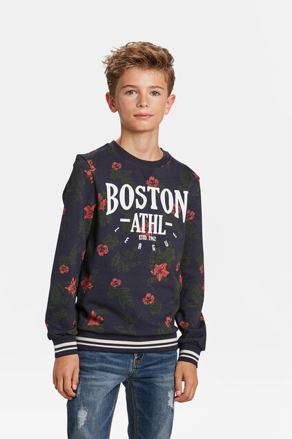 JONGENS BOSTON DESSIN SWEATER All-over print