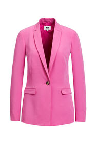 Dames regular fit blazer met stretch_Dames regular fit blazer met stretch, Roze