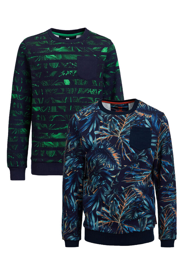 Jongens set - sweater met dessin