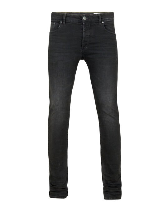 HEREN SKINNY TAPERED SUPER STRETCH JEANS Zwart
