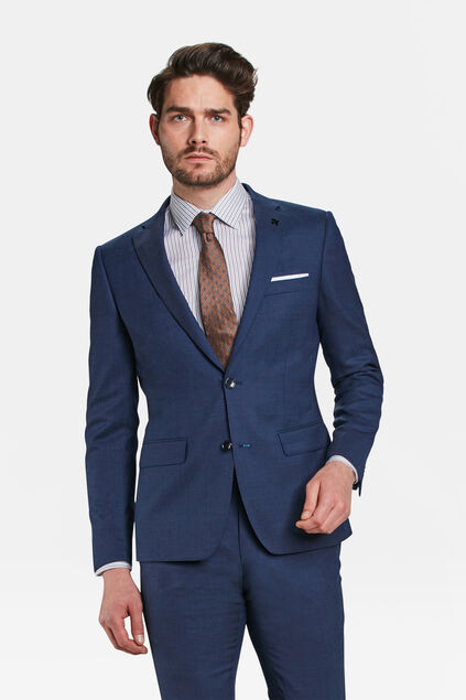 HEREN SLIM FIT BLAZER BRANDENTOWN Marineblauw