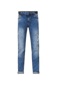 JONGENS SLIM FIT JOG DENIM_JONGENS SLIM FIT JOG DENIM, Blauw
