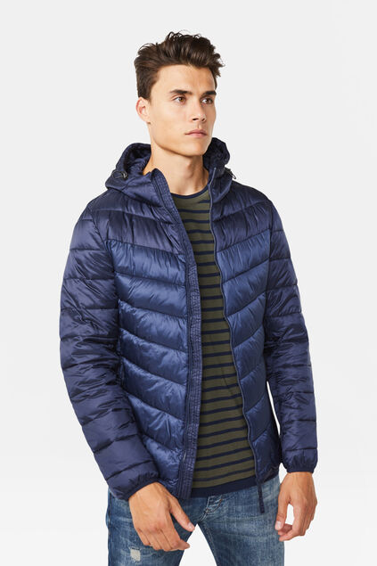 Heren light wait jacket Indigo