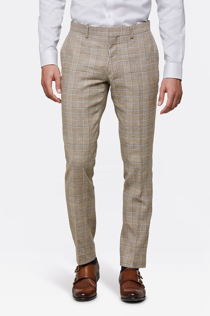 HEREN SLIM FIT PANTALON PAULO Beige