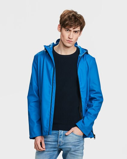 IMPERMÉABLE REGULAR FIT HOMME Bleu vif