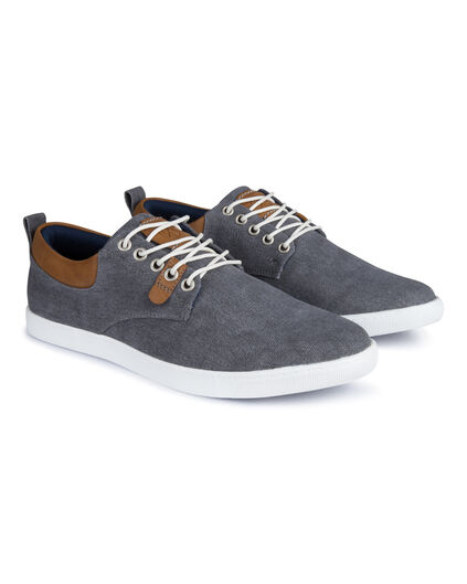 Heren canvas sneakers Grijs