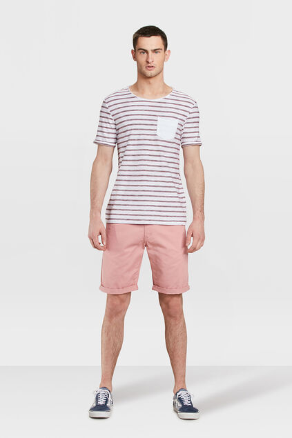 SHORT REGULAR FIT HOMME Rose