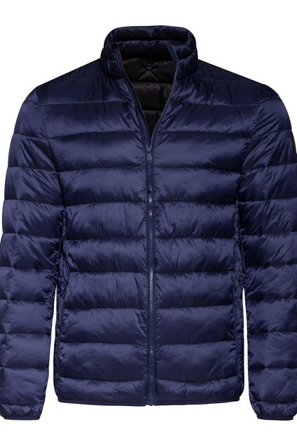 Heren puffer jacket Marineblauw