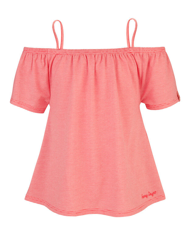 TOP OFF SHOULDER FILLE Rose