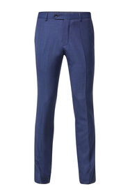 Heren Slim fit pantalon Matera_Heren Slim fit pantalon Matera, Blauw