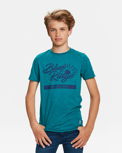 JONGENS BLUE RIDGE T-SHIRT Petrol