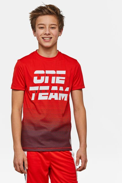 Veste one team sport garçon Rouge