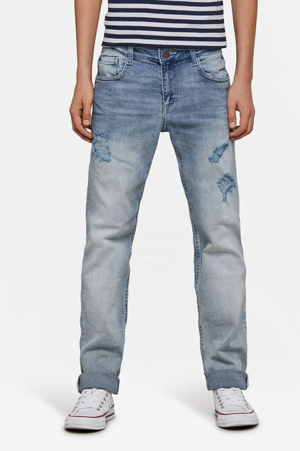 Jongens Regular Fit jeans Blauw