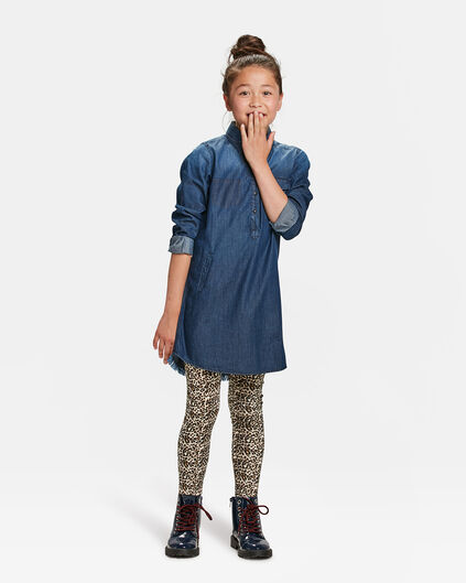 ROBE BLUE RIDGE DENIM FILLE Indigo