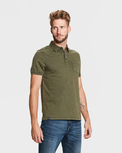 POLO ONE POCKET HOMME Vert armee