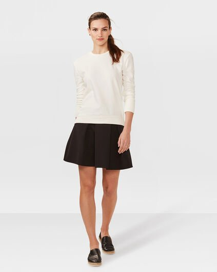 DAMES PLEATED ROK Zwart