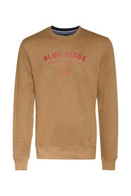 Heren Blue Ridge sweater_Heren Blue Ridge sweater, Lichtbruin
